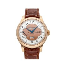 F.P.Journe Rose gold Automatic Silver 42mm pre-owned Octa