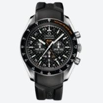 Omega Titanium Automatic Black No numerals new Speedmaster HB-SIA