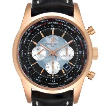 Breitling Transocean Chronograph Unitime new Automatic Chronograph Watch with original box and original papers RB0510U4-BB63BKLD