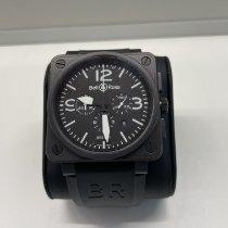 Bell & Ross BR 01-94 Chronographe Сталь 46mm Черный