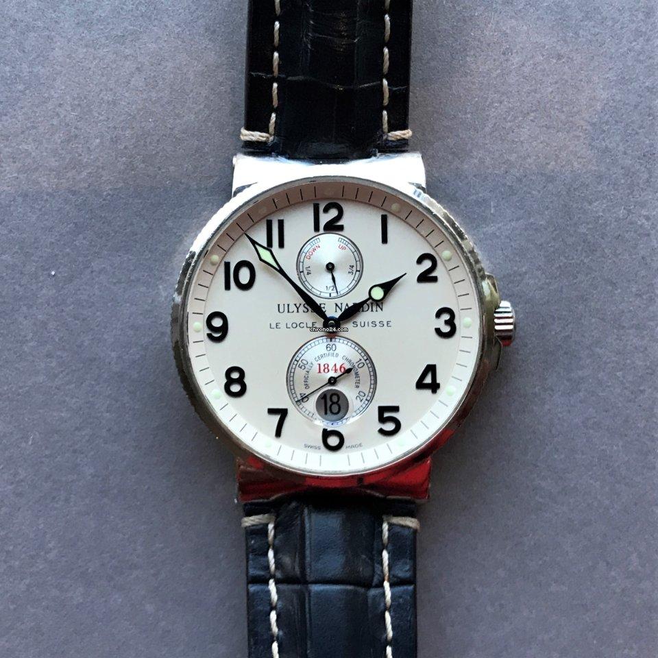 Ulysse Nardin Marine Chronometer 41mm 263-66 2008 ikinci el