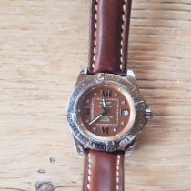 Breitling Cockpit Lady Steel 32mm Brown Roman numerals