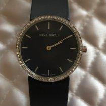Nina Ricci Stahl 27mm Quarz N004.12.39.8 gebraucht