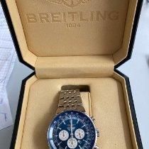 Breitling Navitimer Heritage Сталь 43mm Синий Без цифр