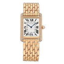 Cartier Tank Louis Cartier Rose gold 33.7mm Silver United States of America, Connecticut, Greenwich
