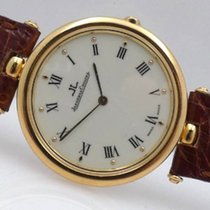 Jaeger-LeCoultre Yellow gold Quartz Silver Roman numerals 31mmmm pre-owned