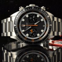 Tudor Heritage Chrono Steel 42mm Grey No numerals