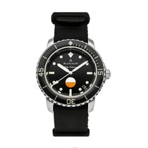 Blancpain Fifty Fathoms Steel 40.3mm Black No numerals United States of America, Pennsylvania, Bala Cynwyd