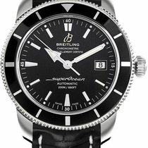 Breitling new Automatic Rotating Bezel Screw-Down Crown 42mm Steel Sapphire crystal