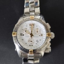 Breitling Emergency pre-owned Chronograph Date Steel
