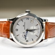 Jaeger-LeCoultre 147.8.05.S Steel 2005 Master Hometime 40mm pre-owned