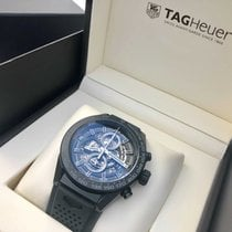 TAG Heuer Carrera Calibre HEUER 01 Ceramic 45mm Black No numerals