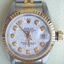 Rolex Lady-Datejust Gold/Stahl 26mm Weiß Keine Ziffern Deutschland, Neustadt