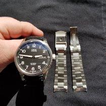 Oris Big Crown ProPilot Day Date Steel Black Arabic numerals United States of America, Connecticut, Enfield