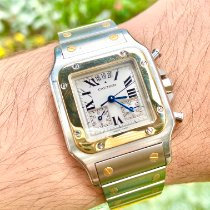 Cartier Santos Galbée Gold/Steel 29mm White Roman numerals United States of America, Florida, Pembroke Pines