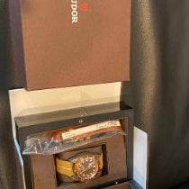 Tudor Black Bay Bronze pre-owned 43mm Brown Leather