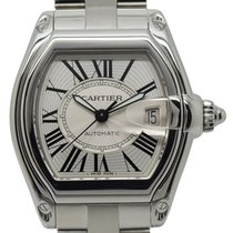 Cartier Roadster Steel 38mm Silver Roman numerals United Kingdom, Birmingham