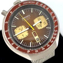 Seiko pre-owned Automatic Brown Glass