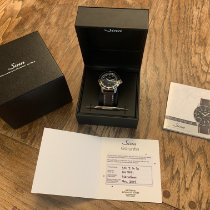 Sinn Steel Automatic Black No numerals 41mm pre-owned 104