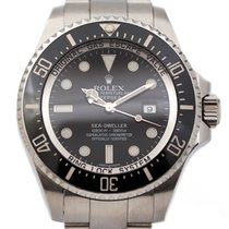 Rolex Sea-Dweller Deepsea Steel 44mm Black No numerals New Zealand, Auckland