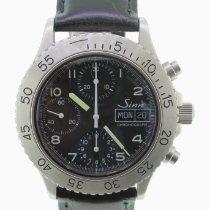 Sinn 256 Steel 38.5mm Black Arabic numerals