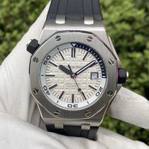 愛彼 Royal Oak Offshore Diver 鋼 42mm 銀色 無數字 香港, North Point