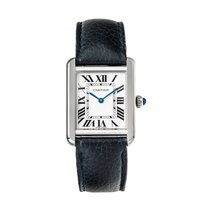 Cartier Tank Solo Steel 31mm White Roman numerals