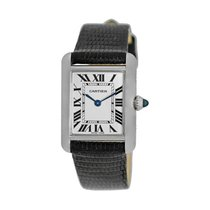 Cartier Tank Louis Cartier White gold 22mm Champagne Roman numerals United States of America, Georgia, Atlanta