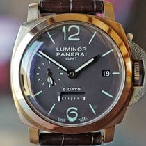 Panerai Luminor 1950 8 Days GMT Rose gold 44mm Brown United States of America, Missouri, Chesterfield