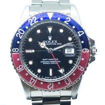 Rolex GMT-Master Steel 40mm Black No numerals Singapore