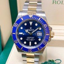 Rolex Submariner Date Gold/Steel 41mm Blue No numerals United Kingdom, Wilmslow