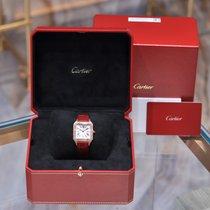 Cartier Aluminum Quartz Gold Roman numerals 38mm new Santos (submodel)