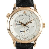 Jaeger-LeCoultre Master Geographic Red gold 38mm Silver