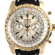 Breitling Bentley Motors Yellow gold 49mm Mother of pearl