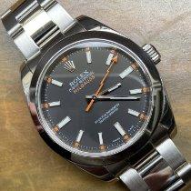 Rolex 116400GV Сталь 2008 Milgauss 40mm подержанные