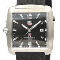 TAG Heuer Professional Golf Watch Steel 36mm Black