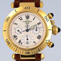 Cartier Pasha 0960 1 Très bon Or jaune 38mm Quartz