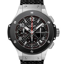 Hublot Big Bang 41 mm Stal 41mm Czarny Arabskie