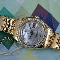 Rolex Day-Date Yellow gold 39mm Grey No numerals
