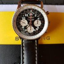 Breitling Navitimer Cosmonaute новые 2017 Механические Хронограф Часы с оригинальными документами и коробкой AB021012/BB59