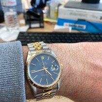 Rolex Datejust Χρυσός / Ατσάλι 36mm Μπλέ Ελλάδα, ATHENS