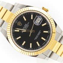 Rolex Datejust II 126333 Very good Gold/Steel 41mm Automatic