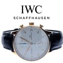 IWC Portugieser Chronograph Roségold 40,9mm Weiß Arabisch Deutschland, Essen
