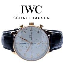 IWC Portuguese Chronograph Rose gold 40,9mm White Arabic numerals