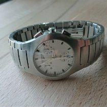 Longines Oposition Steel 33mm White No numerals