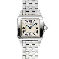 Cartier Santos Demoiselle Steel 20mm White