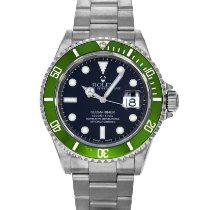 Rolex Submariner Date Steel 40mm Green No numerals United States of America, Maryland, Baltimore, MD