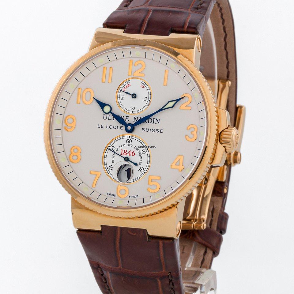 Ulysse Nardin Marine Chronometer 41mm 266-66 2008 pre-owned