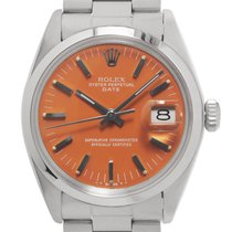 Rolex Oyster Perpetual Date Acero 34mm Naranja Sin cifras España, Madrid