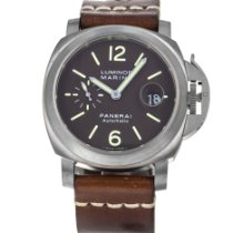 Panerai Luminor Marina Automatic Titanium 44mm Brown Arabic numerals United States of America, Maryland, Baltimore, MD